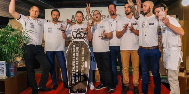 Angostura elige al mejor bartender de Europa